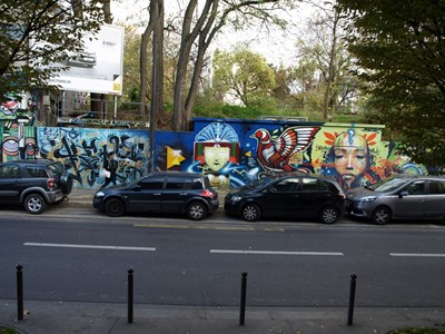 photo graffiti Paris 19eme arrondissement